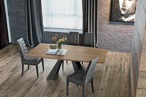 TAURUS 230 TP163, Table avec plateau en tonneau