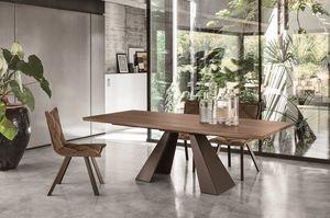 TAURUS 230 TP167, Table à manger rectangulaire