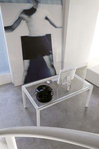 dl50 stoccolma, Peint table d'opération en acier, plateau en verre