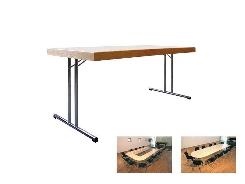 Conference 1880, Table pliante avec plancher en bois pour les banquets et réunions
