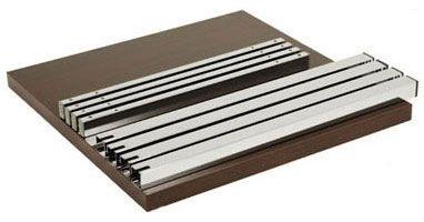 FT 040, Table amovible, en métal et bois, pour des rafraîchissements