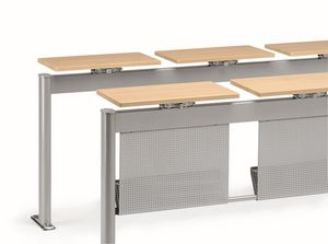 KOMPACT 880, Table métallique modulaire, idéal pour les salles de classe