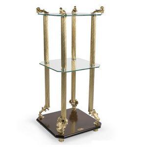 2014, Table basse de luxe classique avec dessus en verre trempé
