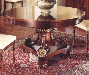 3000 TAVOLO, Table ronde pour salle à manger classique