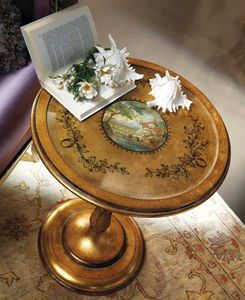 5243 table ronde, Table ronde de style classique