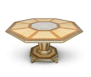 AGNES / table, Table luxueuse avec plateau octogonal