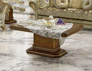 Aida coffee table, Table basse élégante pour les salons classiques