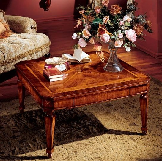 Albina coffee table, Luxe table basse classique