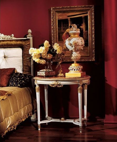 Angeli side table 837, Luxe table d'appoint classique