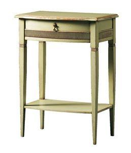 Aristotele FA.0143, Table basse avec 2 tablettes, pour les hôtels et restaurants de luxe