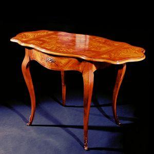 Art. 106/F Napoleone, Table d'appoint de style classique avec plateau extensible