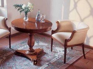 Art. 1070, Table basse ronde classique pour salon