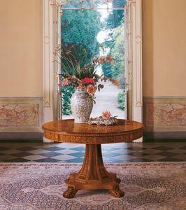 Art. 1107, Table ronde, design classique, pour les cantines de luxe