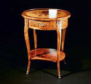 Art. 154 Violino, Table d'appoint classique, avec tiroir