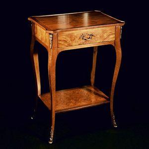 Art. 178/C Venezia, Table porte-lampe avec tiroir