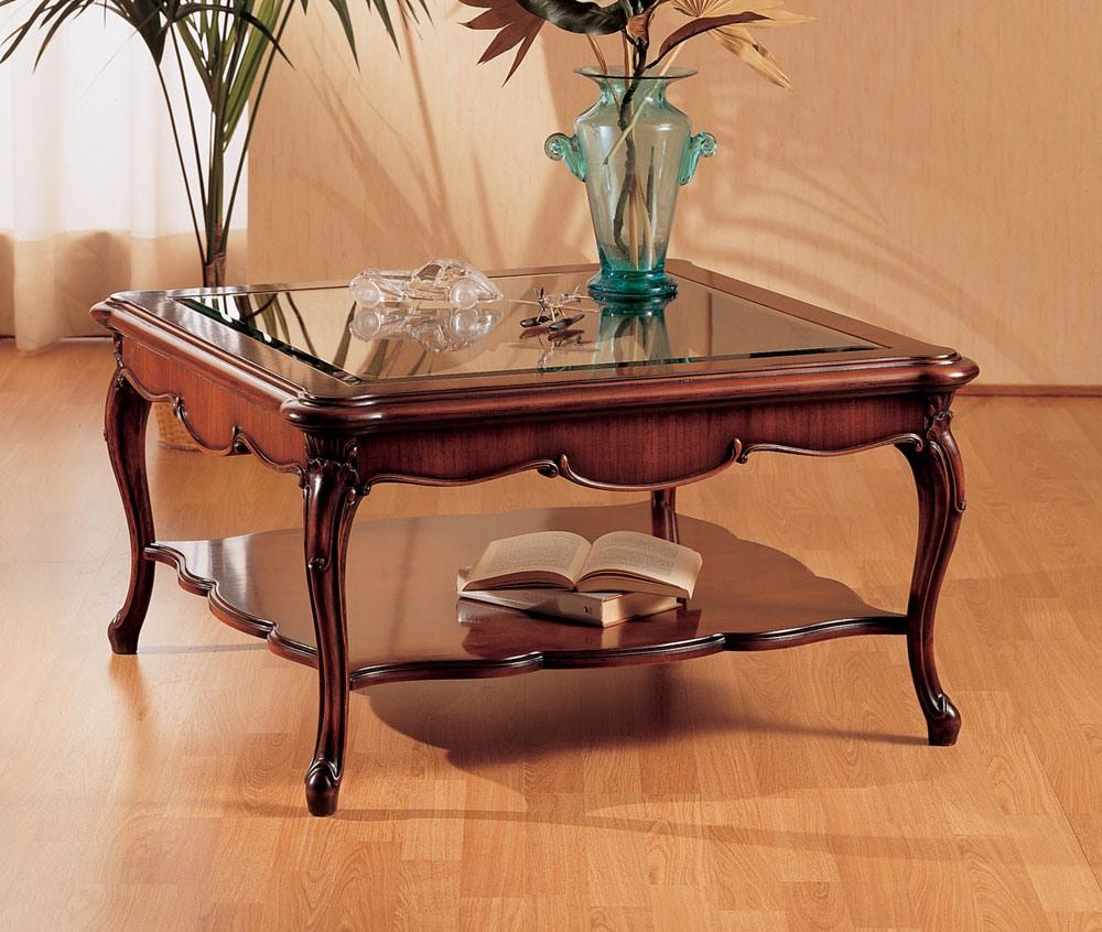 Art. 220/Q, Petite table avec les jambes décorées, pour le salon