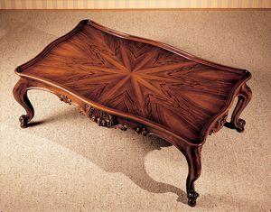 Art. 222/R, Table basse avec plateau en marqueterie, pour les villas de luxe