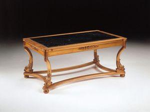 Art. 223 Nettuno, Table basse de luxe, sculpté à la main, pour les hôtels
