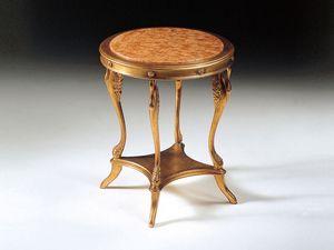 Art. 224 Leda, Table basse dans un style classique, pour l'entrée et le salon