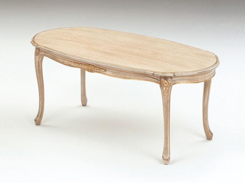 Art. 263, Tables en bois, finition décapé, pour des suites de luxe