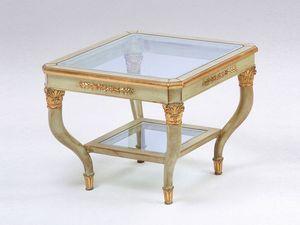 Art. 302 Mida, Table basse élégamment sculptée, pour hôtel de luxe