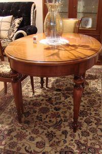 Art. 802, Table ovale adapté pour les cuisines, extensible