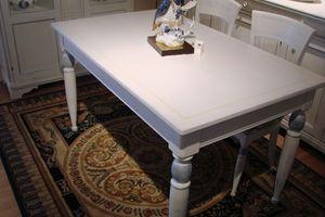 Art. 891, Table rectangulaire laqué, pour une cuisine classique
