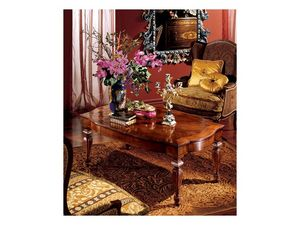Complements coffee table 852, Table basse rectangulaire pour salon