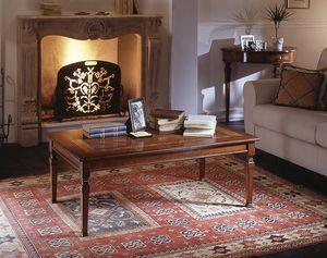 D 503, Table basse avec incrustation florale, style classique