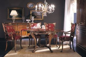 Edenica table, Table à manger style luxe classique