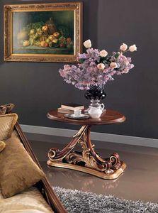 Edenica petite table, Table basse en bois sculptée à la main