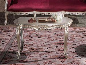 HERMITAGE Table basse, Table basse classique sculptée