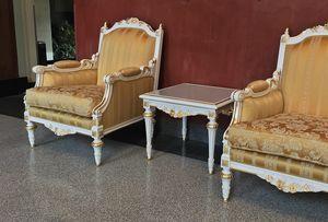 Impero Lampe, Des tables joliment décorées par des maîtres artisans