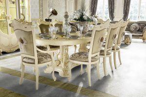 Madame Royale table ovale, Table à manger ovale