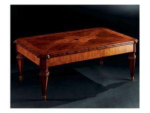 Maggiolini coffee table 798, Luxe table basse classique en bois sculpté