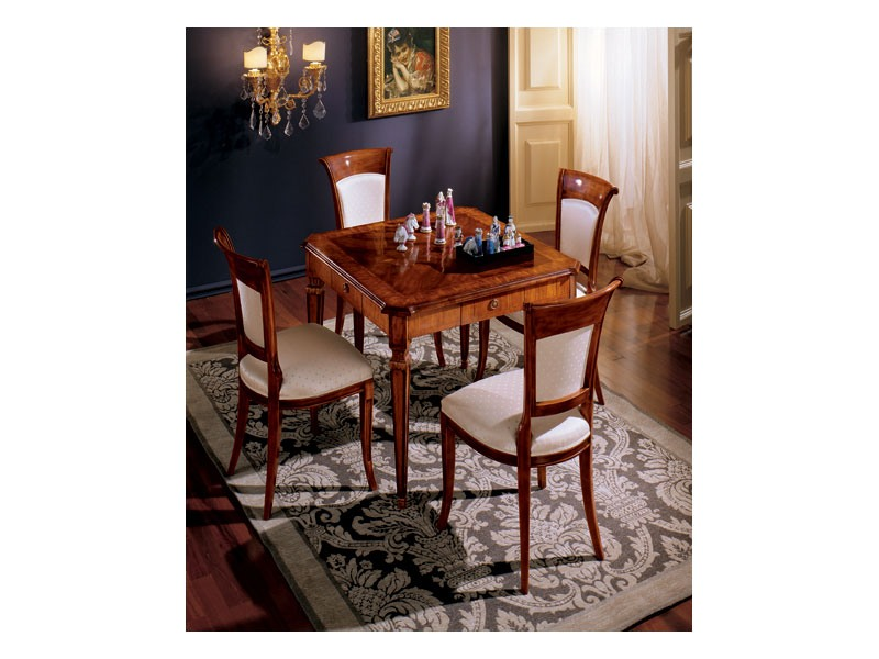 Maggiolini table 799, Classique de luxe table de carré