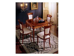 Maggiolini table 799, Classique de luxe table de carr�