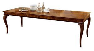 Saint Matré VS.5560, Table extensible en noyer, pour les hôtels et restaurants