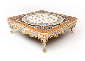 Scent of flowers table basse, Table basse prestigieuse décorée artisanale