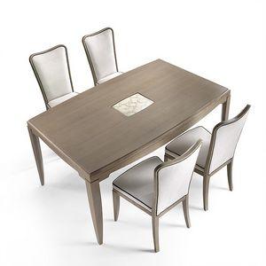 ST 312, Table de Ash avec insert sur le dessus, le style classique