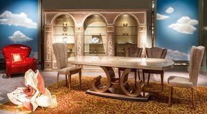 TA58 table, Table extensible pour les salles à manger classiques