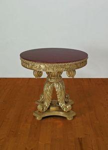 TABLE ART. TL 0002, Sculpté centre de table pour la salle à manger, dans le style empire