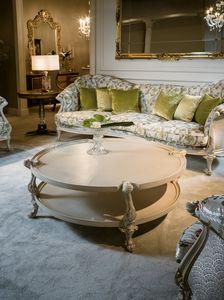 Table basse 4963, Table basse laquée de style classique