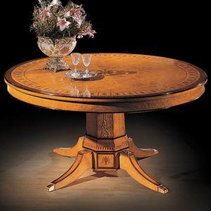 Tableau 1176, Table classique en myrte briar