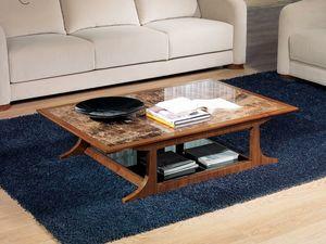 TL52 Desyo petite table, Tables basses rectangulaires adaptés pour les classiques salons