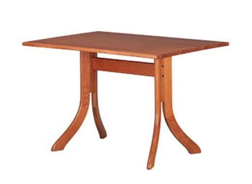 605, Table rectangulaire moderne, en hêtre, pour les bars