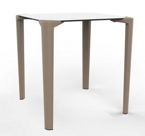 Close-4, Table d'extérieur empilable, pour restaurants et bars