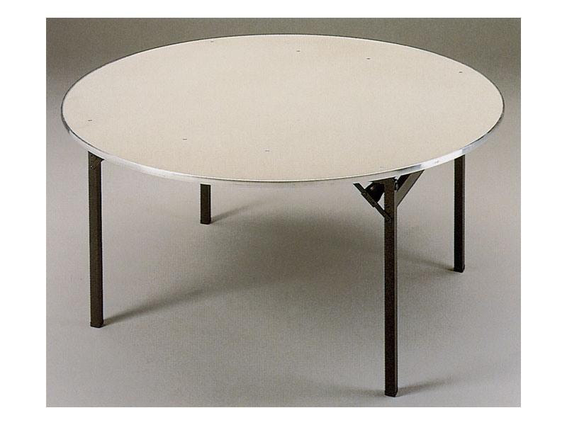 Slimfold S.3, Table pliante avec plateau en bois, facilement transportable