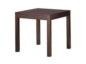 TM03, Table carrée moderne en hêtre, pour les hôtels et les bars
