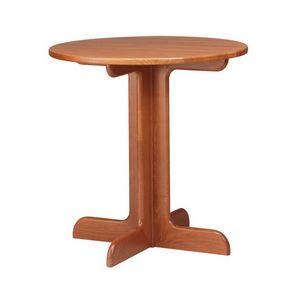 TV02, Table en bois de hêtre dans un style rustique, pour les cercles